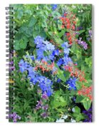 Flowers Galore Spiral Notebook