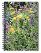 Flowers In Charlottenburg Palace Garden Spiral Notebook