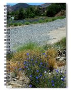 Flowers In The Gold Hill Desert Spiral Notebook