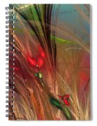 Flowers In The Grass Spiral Notebook