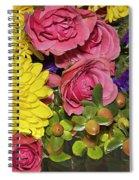 Flowers Of Summer Spiral Notebook