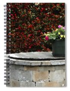 Flowers On The Well Spiral Notebook