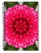 Flowery Creation Spiral Notebook