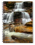 Flowing Down The Mountain Spiral Notebook