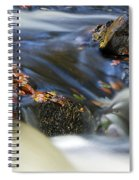 Flowing River IIi Spiral Notebook