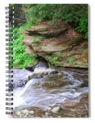 Flowing Water Spiral Notebook