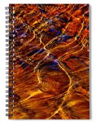 Flowing Water Of The Elwha Spiral Notebook