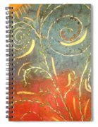 Flowing Wild In The Sun Spiral Notebook