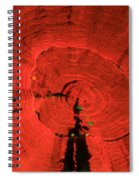 Fluorescent Coral In Uv Light Spiral Notebook