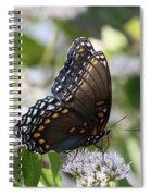 Flutterby Spiral Notebook