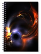 Flying Eye Spiral Notebook