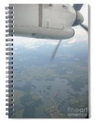 Flying Home Spiral Notebook