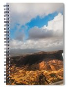 Flying Over Spanish Land IIi Spiral Notebook