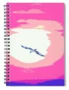 Flying To Heaven Spiral Notebook