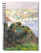Fog On Guernsey Spiral Notebook