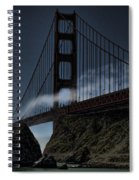 Fog's Slow Release Spiral Notebook