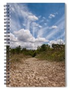 Follow The Path Spiral Notebook