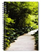 Follow Your Path Spiral Notebook