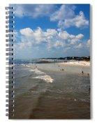Folly Beach Charleston South Carolina Spiral Notebook