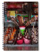 Food - Candy - Chocolate Covered Everything Spiral Notebook