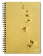 Foot Prints Spiral Notebook