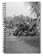 Football Game, 1912 Spiral Notebook