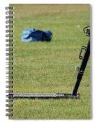 Football Sled Spiral Notebook