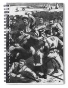 Football: Soldiers, 1865 Spiral Notebook