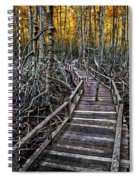 Footpath In Mangrove Forest Spiral Notebook