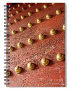 Forbidden City Door Spiral Notebook