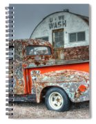 Ford At The U We Wash Spiral Notebook