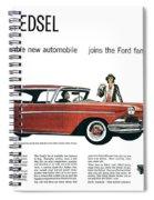 Ford Cars: Edsel, 1957 Spiral Notebook