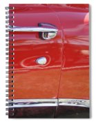 Ford Ranchero Door And Side Panel Spiral Notebook