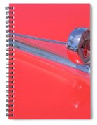 Ford Ranchero Hood Ornament Spiral Notebook