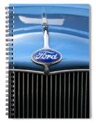 Ford Truck Emblem Spiral Notebook