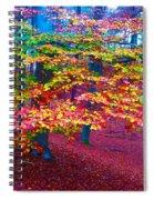 Forest Color Leaves Spiral Notebook