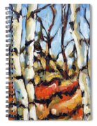 Forest Edge By Prankearts Spiral Notebook