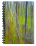 Forest Impression Photographic Image Yellowstone No. 2135. Spiral Notebook