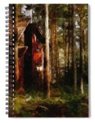 Forest In Fall Spiral Notebook