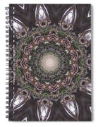 Forest Mandala 1 Spiral Notebook