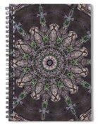 Forest Mandala 3 Spiral Notebook