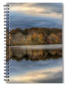 Forge River In Fall Spiral Notebook