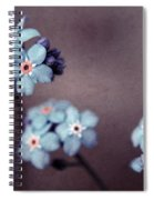 Forget Me Not 01 - S05dt01 Spiral Notebook