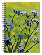 Forget-me-nots Spiral Notebook