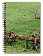 Forgotten Farm Equipment Spiral Notebook