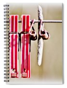 Forgotten Spiral Notebook