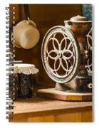 Forgotten Kitchen Of Yesteryear Spiral Notebook