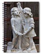 Forgotten Statue Spiral Notebook