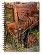 Forgotten Tractor 20 Spiral Notebook