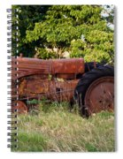 Forgotten Tractor 23 Spiral Notebook